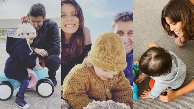 Filha de Daniel Oliveira e Andreia Rodrigues celebra dois anos