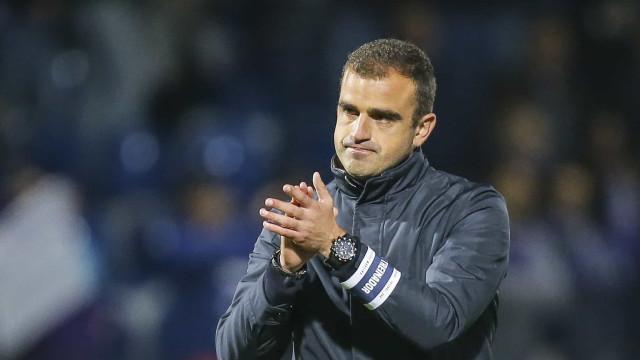 Sporting B vai regressar e Filipe Martins é o nome em equação