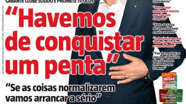 """Por cá: Vieira fala e pede-se """"bom senso"""" a Super Dragões"""