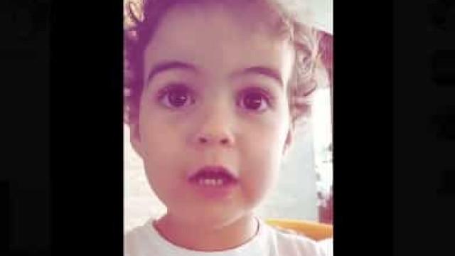 Vídeo: Como Alana Martina decorou o recado que o pai Ronaldo lhe deu