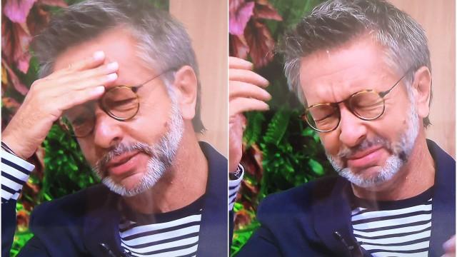 Jornalista da TVI desaba em lágrimas ao contar que o pai morreu há 3 dias