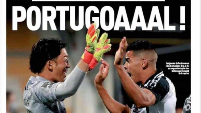 Lá fora: Retoma do futebol português em destaque e não basta CR7 na Juve