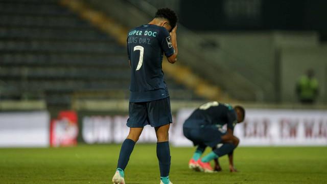 As imagens de uma derrota que pode custar a liderança ao FC Porto
