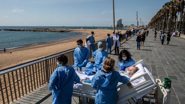 Ver o mar. Um novo processo na recuperação de doentes com Covid-19