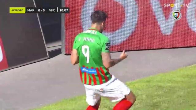 Marítimo voltou a 'todo o gás' e só precisou de 11 minutos para marcar