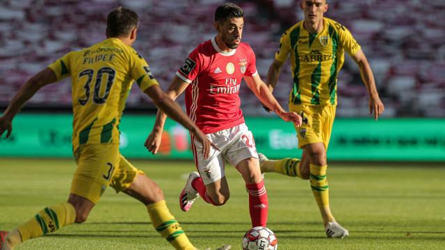 [0-0] Benfica-Tondela: Jardel a centímetros do golo
