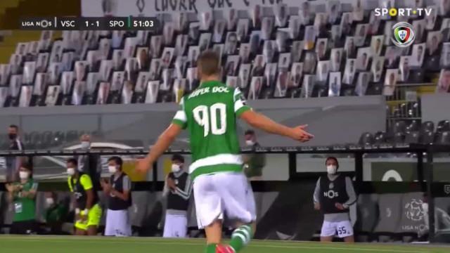 Xistra anula golo a Sporar, VAR corrige e Sporting festeja