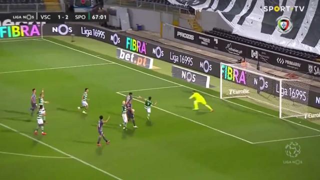 'Jogo de loucos' em Guimarães. Edwards fez assim o quarto golo da noite