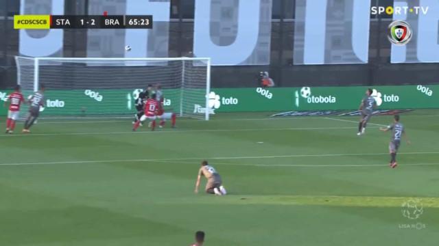 Thiago Santana está de pé quente e volta a marcar ao Sporting de Braga