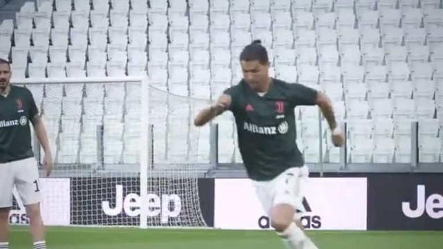 """Cristiano Ronaldo e companhia estão de regresso a """"casa"""""""