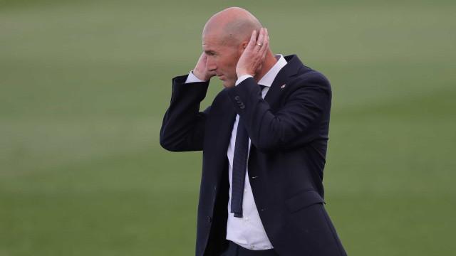Zidane entre os treinadores com mais títulos ao serviço do Real Madrid