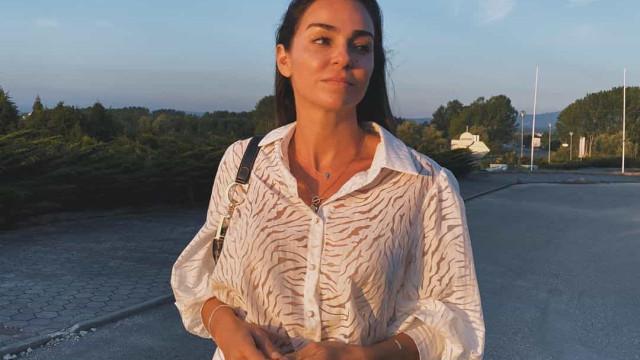 Vanessa Martins já aterrou em São Paulo. As primeiras imagens da viagem