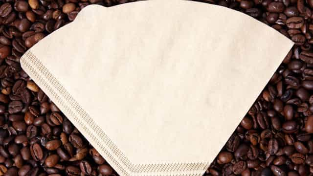 Usos criativos para filtros de café