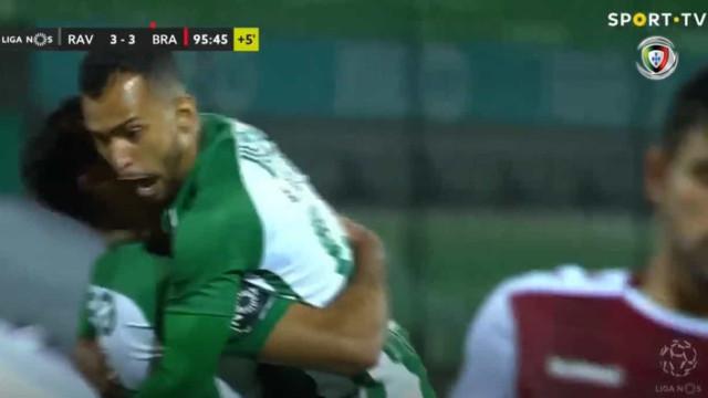 O resumo do 'louco' Rio Ave-Sp. Braga: Veja os sete golos