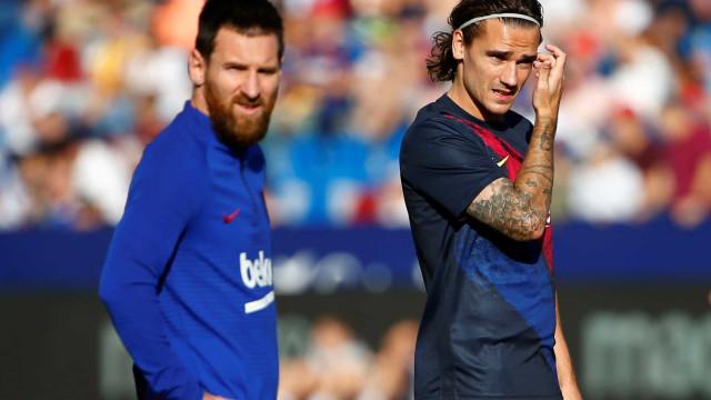 Griezmann avisa Barcelona que só aceita sair para um clube