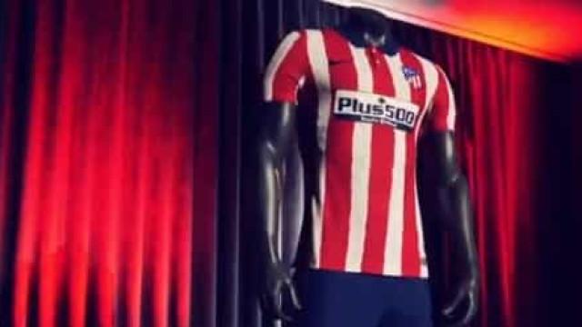 Atlético de Madrid apresenta a nova camisola de João Félix e companhia