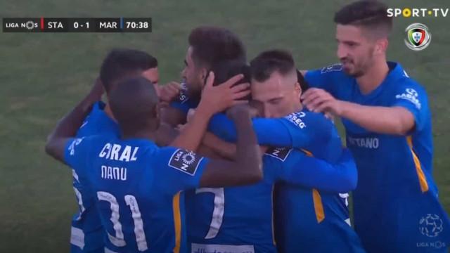A vitória do Marítimo sobre o Santa Clara em 60 segundos