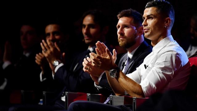 Ronaldo em queda livre? Luso é 10.º na lista de melhores do ano da UEFA