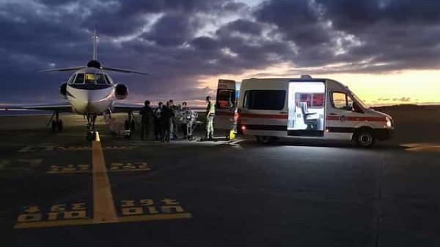Força Aérea transporta recém-nascida dos Açores para o Continente
