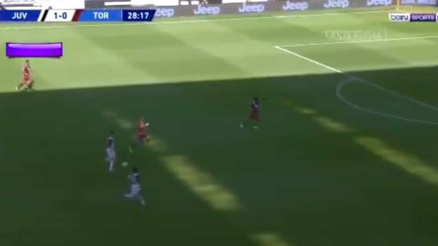Cavalgada triunfal de CR7 terminou em mais um golo para a Juve