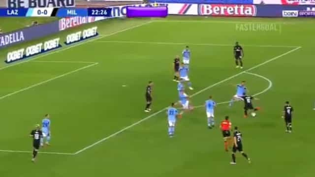 Çalhanoglu abre o ativo em Roma com este 'hino ao futebol'
