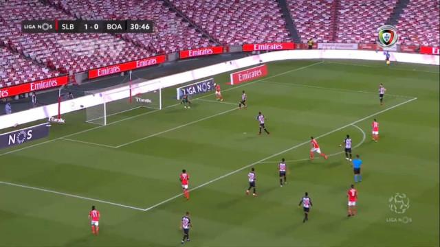 O golo de Pizzi que aumentou a vantagem do Benfica na Luz