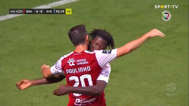 Em 60 segundos: Confira a goleada do Sp. Braga aplicada ao Aves