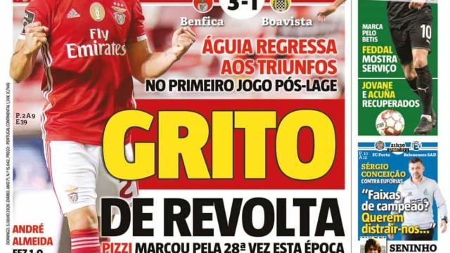 Por cá: A revolta vermelha, o regresso de Sérgio e Feddal com proposta