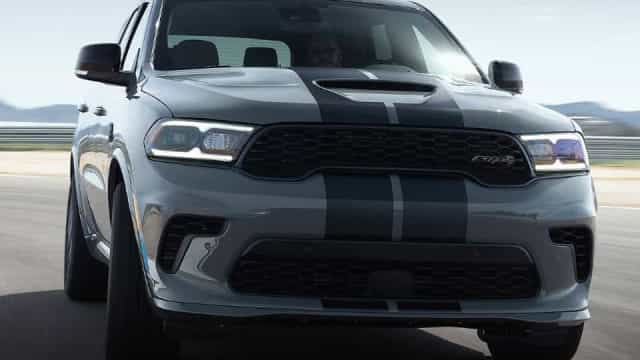 Durango Hellcat: Dodge é 'dona' do SUV mais potente do planeta