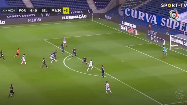 Luis Díaz fecha goleada do FC Porto com 'chave de ouro'