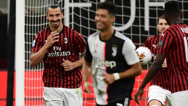 Fotogaleria: As melhores imagens do escaldante Milan-Juventus