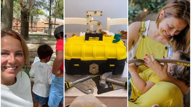 As imagens que marcaram o aniversário do filho de Tânia Ribas de Oliveira