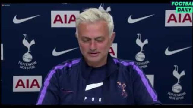 """Castigo a Dier? Mourinho reagiu assim para não """"ficar em sarilhos"""""""