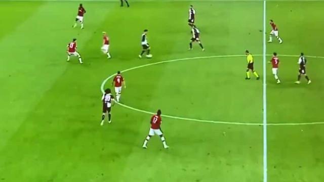 Ronaldo a imitar Messi? O vídeo que serviu para criticar CR7