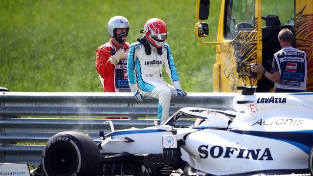 F1: Acha que viu todas as imagens do Grande Prémio da Áustria?