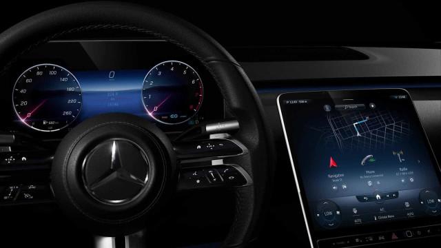 Novo Mercedes-Benz Classe S estreia o novo sistema MBUX