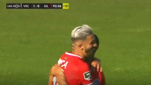 O golo de Rúben Ribeiro que deu início ao pesadelo do Vitória SC