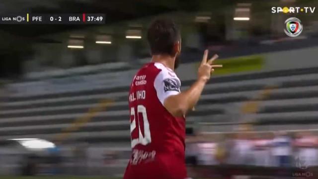 O golo de Paulinho que selou um hat-trick em... 38 minutos
