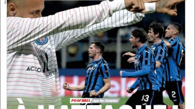 Lá fora: Sorteio da Champions em Lisboa 'invade' manchetes