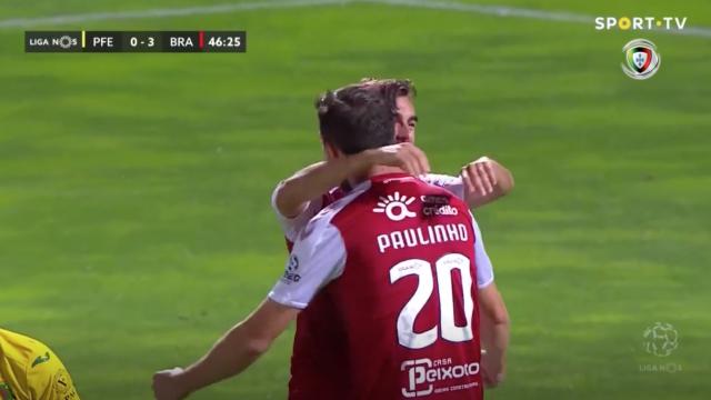 A goleada do Sp. Braga em Paços de Ferreira em apenas 60 segundos