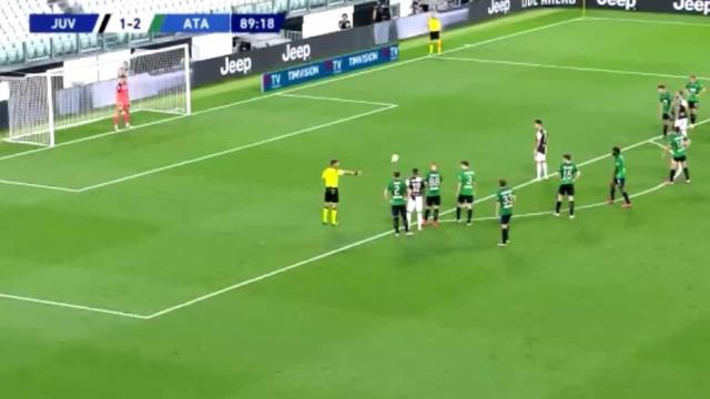 O bis de Cristiano Ronaldo impediu nova derrota da Juventus