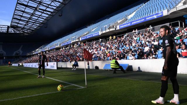 PSG jogou em Le Havre e levou quase cinco mil adeptos ao estádio