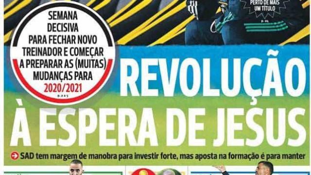 Por cá: Revolução na Luz, reforços em Alvalade e um 'dragão' de decisões