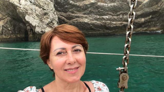Maria João Abreu diverte-se em férias de família no Gerês