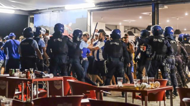 FC Porto repudia violência contra os seus adeptos em Coimbra