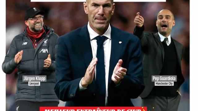 """Lá fora: Real Madrid na """"bolha"""" e 'divórcio' em Milão"""