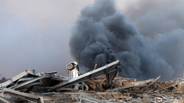Explosões em Beirute