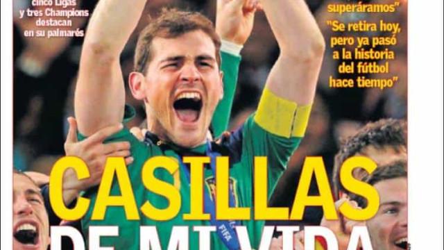 "Lá fora: Da ""defesa final"" de Iker ao ""jackpot"" inglês"