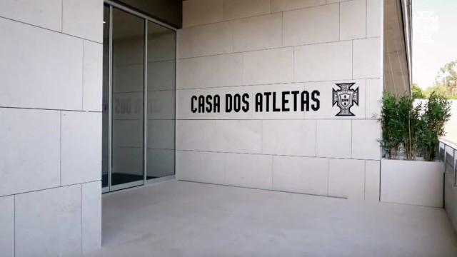 FPF abre oficialmente as portas da Casa dos Atletas