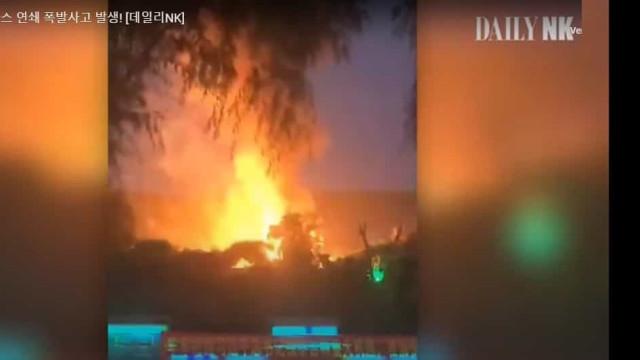 Vídeo sugere explosões em cidade norte-coreana perto da China